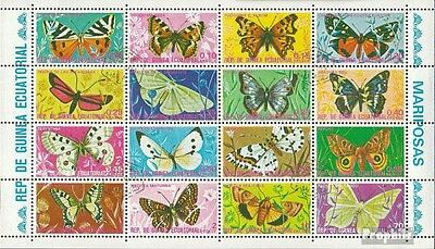 Equatorial-Guinea 736-751 Sheetlet (complete issue) used 1975 B