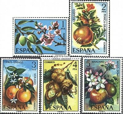 Spain 2146-2150 (complete issue) unmounted mint / never hinged 1975 Fruit
