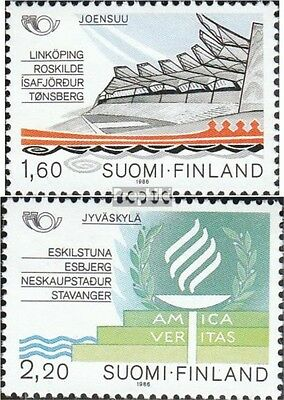 Finland 996-997 (complete issue) unmounted mint / never hinged 1986 NORTH`86 Par
