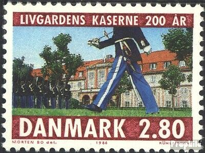 Denmark 864 (complete issue) unmounted mint / never hinged 1986 Royal bodyguard