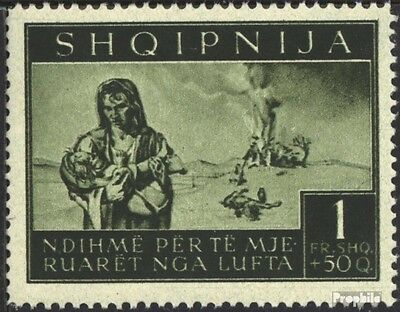 Albania (German.cast.2.world.) 19 unmounted mint / never hinged 1944 bomb victim