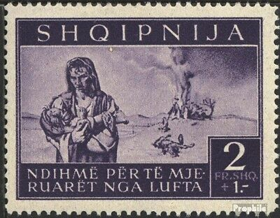 Albania (German.cast.2.world.) 20 unmounted mint / never hinged 1944 bomb victim