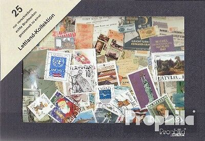 Latvia 25 different stamps