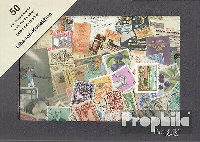 lebanon 50 different stamps