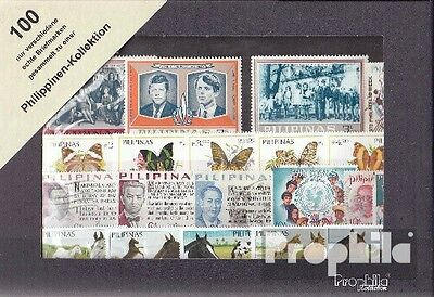 Philippines 100 different stamps