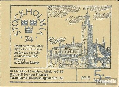 Sweden MH35 (complete issue) unmounted mint / never hinged 1972 STOCKHOLMIA