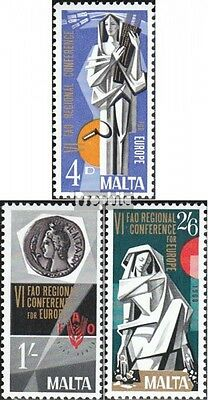 Malta 383-385 (complete issue) unmounted mint / never hinged 1968 special stamps