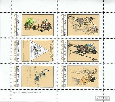 New Zealand 925-930 Sheetlet (complete issue) unmounted mint / never hinged 1985