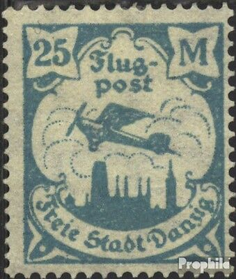 Gdansk 133 tested used 1923 Airmail