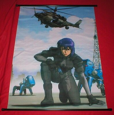 Ghost In The Shell Stand Alone Complex Cloth Poster Art Wall Scroll