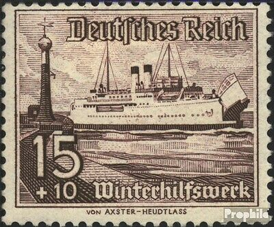 German Empire 657 with hinge 1937 Vessels