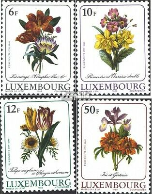 Luxembourg 1190-1193 (complete issue) unmounted mint / never hinged 1988 Flower