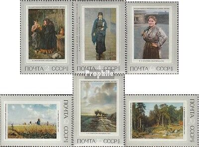 Soviet-Union 3930-3935 (complete issue) unmounted mint / never hinged 1971 Wande