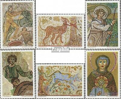 Yugoslavia 1369-1374 (complete issue) unmounted mint / never hinged 1970 mosaic