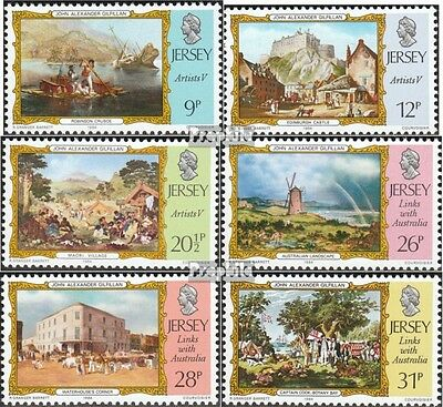 united kingdom-Jersey 334-339 (complete issue) unmounted mint / never hinged 198
