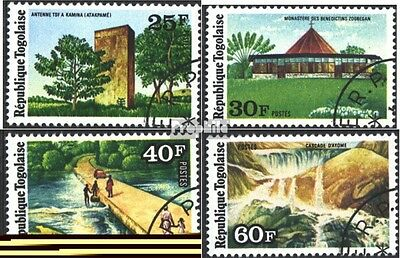Togo 1088A-1091A (complete issue) used 1975 attractions of Lano