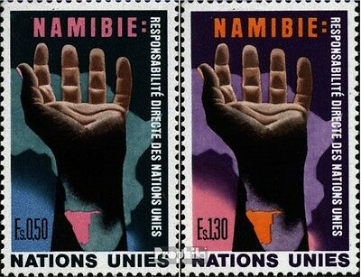 UN-Geneva 52-53 (complete issue) unmounted mint / never hinged 1975 Namibia-Help