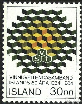 Iceland 621 (complete issue) used 1984 employers association