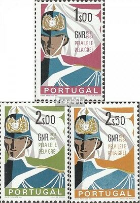 Portugal 912-914 (complete issue) used 1962 national guard