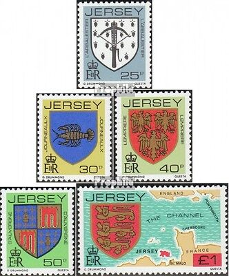 united kingdom-Jersey 273-277 (complete issue) unmounted mint / never hinged 198
