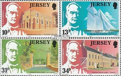 united kingdom-Jersey 368-371 (complete issue) unmounted mint / never hinged 198