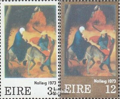 Ireland 296-297 (complete issue) unmounted mint / never hinged 1973 christmas