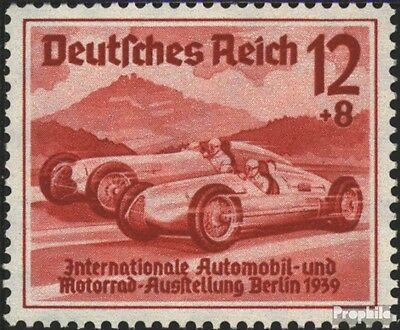 German Empire 687 with hinge 1939 IAA