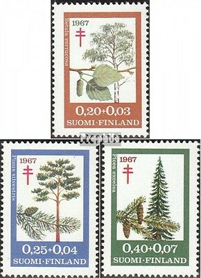 Finland 623-625 (complete issue) unmounted mint / never hinged 1967 Fight the Tu
