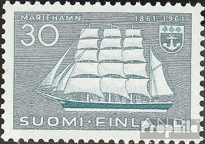 Finland 531 (complete issue) unmounted mint / never hinged 1961 City mariehamn
