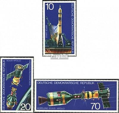 DDR 2083-2085 (complete.issue) unmounted mint / never hinged 1975 Soyuz-Apollo