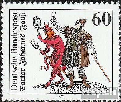 FRD (FR.Germany) 1030 (complete issue) FDC 1979 J. Faust