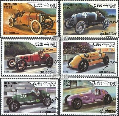 Afghanistan 1877-1882 (complete issue) used 1999 Old Racecar