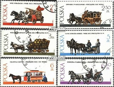 Poland 2721-2726 (complete issue) used 1980 Warsaw Yokes