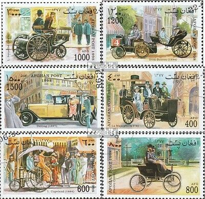 Afghanistan 1791-1796 (complete issue) used 1998 Old Automobile
