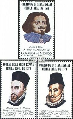 Mexico 1651-1653 (complete issue) unmounted mint / never hinged 1979 400 years P