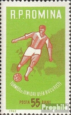 Romania 2043 (complete issue) used 1962 UEFA-football cup the j