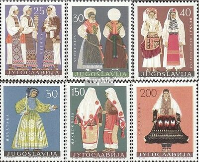 Yugoslavia 1085-1090 (complete issue) used 1964 Costumes