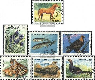 Aserbaidschan 269-275 (complete issue) used 1995 clear brands: