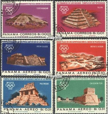 Panama 974-979 (complete issue) used 1967 altmexikanische place