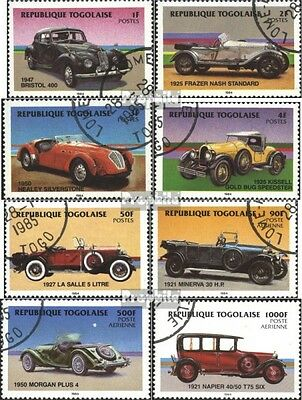 Togo 1792-1799 (complete issue) used 1984 Automobile