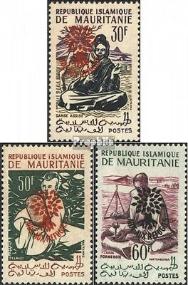 Mauritania III-V I (complete issue), not spent unmounted mint / never hinged 196
