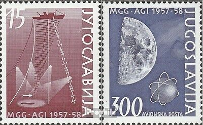 Yugoslavia 868-869 (complete issue) used 1958 Boarding. Geophys