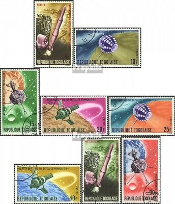 Togo 559A-566A (complete issue) unmounted mint / never hinged 1967 Study of Spac