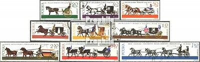 Poland 1644-1652 (complete issue) used 1965 Carriages