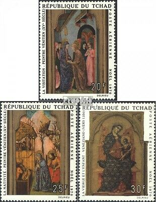 Chad 338-340 (complete issue) unmounted mint / never hinged 1970 Paintings itali