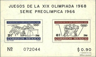 Mexico block5 (complete issue) unmounted mint / never hinged 1966 vorolympische.