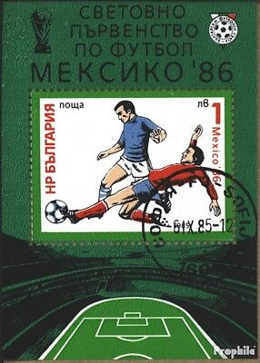 Bulgaria block155 (complete issue) unmounted mint / never hinged 1985 Football-W