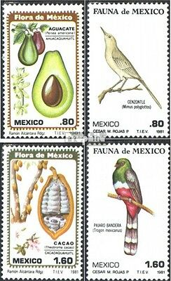 Mexico 1747-1750 (complete issue) unmounted mint / never hinged 1981 Flora and F