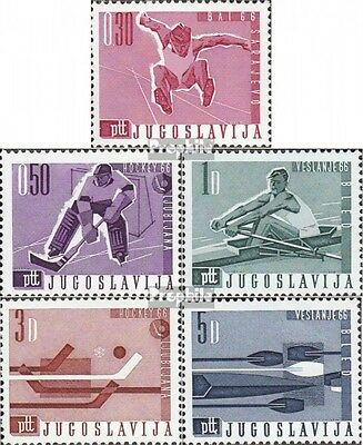Yugoslavia 1144-1148 (complete issue) unmounted mint / never hinged 1966 WM in H