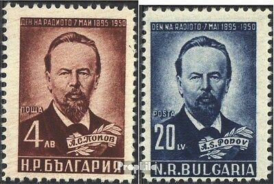 Bulgaria 774-775 (complete issue) unmounted mint / never hinged 1951 Alexander S